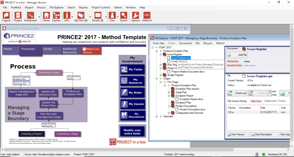prince2 2017 software; PRINCE2; PRINCE2 methodology; prince project