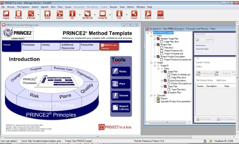 PRINCE2 - information, software and training