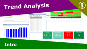 trend analysis; project history analysis