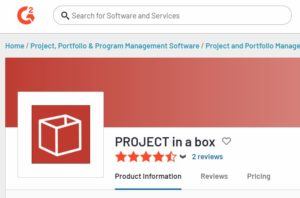 more great reviews for our Project and programme management software at G2 Crowd